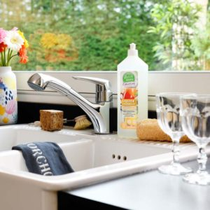 Nettoyage de la cuisine