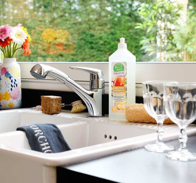 Liquide vaisselle écologique par Bulle Verte