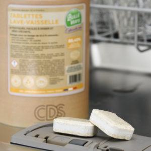 Tablettes lave-vaisselle 3 en 1