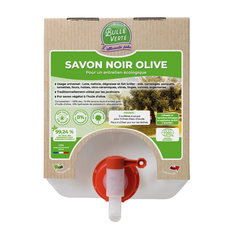 Savon noir olive